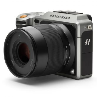 H-3013901 Hasselblad X1D-50c Medium Format Mirrorless Digital Camera (Body Only)  HS X1D 50MP 43.8 x 32.9mm CMOS X system front side view