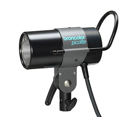 Broncolor Picolite 1600 w sec extra lamphead strobe lighting power pack heads BR PICOLITE 32.021.XX