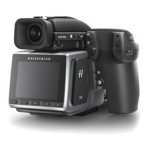 Hasselblad H6D-50c Mediumformaat DSLR Camera met wifi 50MP 43.8 x 32.9mm CMOS Sensor full hd front