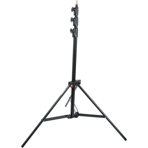 Manfrotto Alu Master Air-Cushioned Stand (Black, 3.66 m 12′) 1004BAC MF STATM