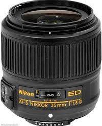 Nikon 35mm f 1.8G FX AF-S RENTAL