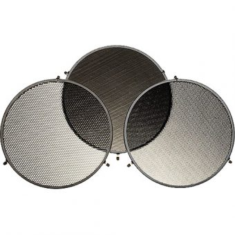 Broncolor Honeycomb 3 Grid Set for L40 Reflector RENTAL
