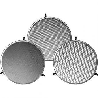 Broncolor Honeycomb 3 Grid Set for P70 Reflector RENTAL