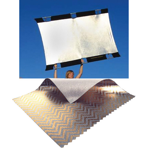 sunbounce-sunbounce-big-sun-bounce-kit-zebrawhite-screen-6×8-rental