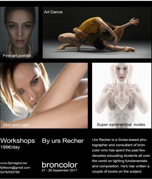 Urs Recher Workshop square2 Symmetrical Nudes 2 International Models Fina Art Portrait 2017 Fpimagine broncolor Hasselblad Frank Pittoors Urs Recher Kurt Stallaert Pascal Baetens Lineup