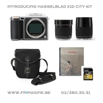 Hasselblad X1D City kit foto square Fpimagine Frank Pittoors broncolor k5600 sales rental