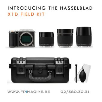 Hasselblad X1D field kit foto square Fpimagine Frank Pittoors broncolor k5600 sales rental