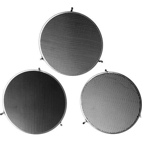 Broncolor Honeycomb Grids for P65, P45, P 50 PAR Reflectors – Set of 3