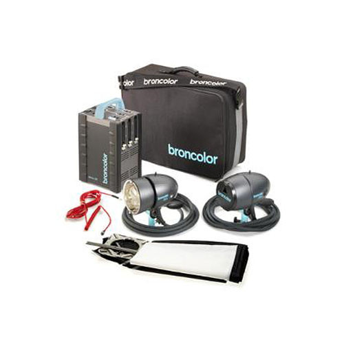 Broncolor Senso kit 42 RFS with 2 head and A4 2400 RFS 2 Power Pack fpimagine
