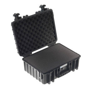 B&W Outdoor Cases Type 5000 zwart : plukschuim b