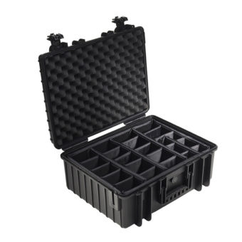 B&W Outdoor Cases Type 5000 zwart : verdeelset 1