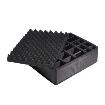 B&W Outdoor Cases Type 5000 zwart : verdeelset binnen