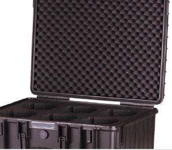 B&W Outdoor Cases Type 6000 BLACK XEEN INLAY