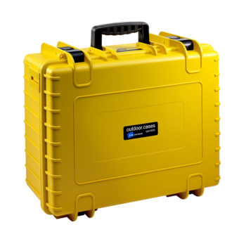 B&W Outdoor Cases Type 6000 YELLOW 1