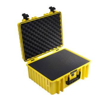 B&W Outdoor Cases Type 6000 YELLOW 2