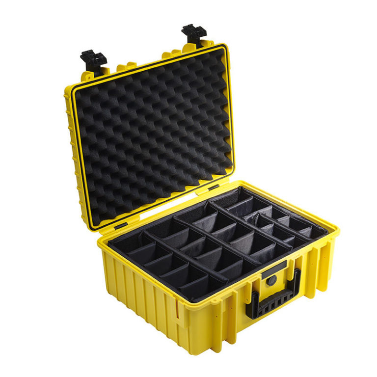 B&W Outdoor Cases Type 6000 YELLOW 4