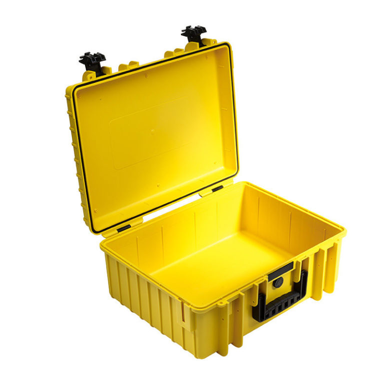 B&W Outdoor Cases Type 6000 YELLOW3