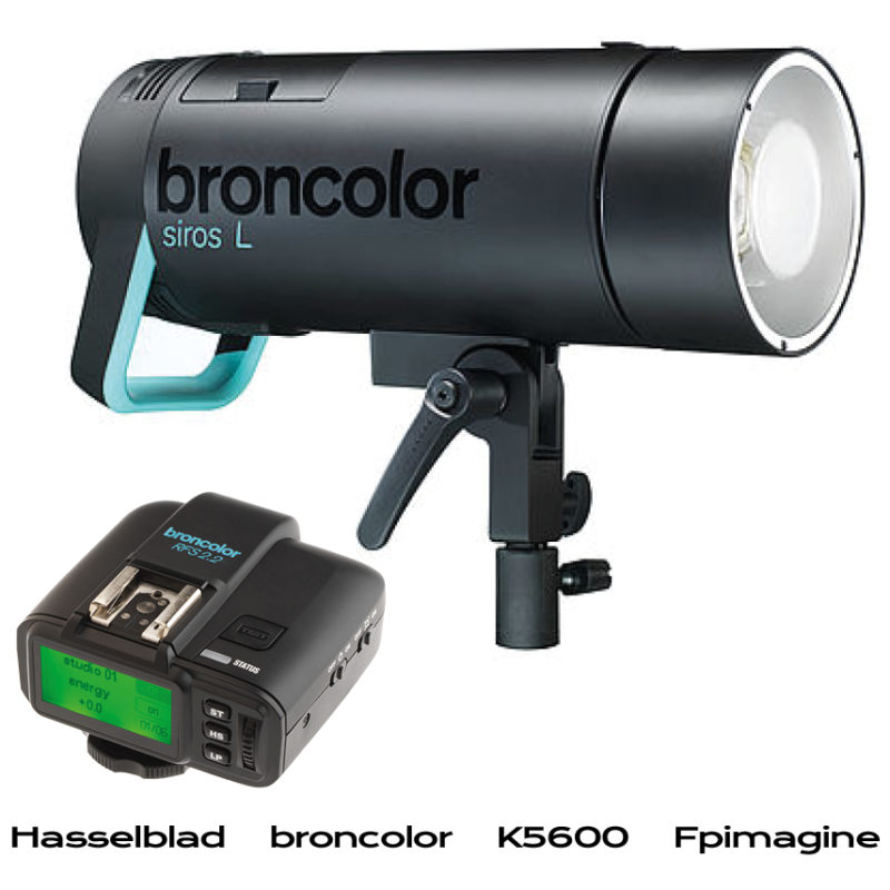 Fpimagine broncolor Siros L with free RF - cashback hasseblad broncolor k5600