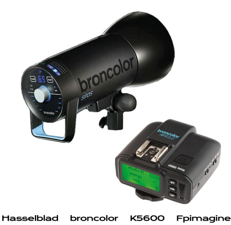 Fpimagine broncolor Siros with free RF - cashback hasseblad broncolor k5600